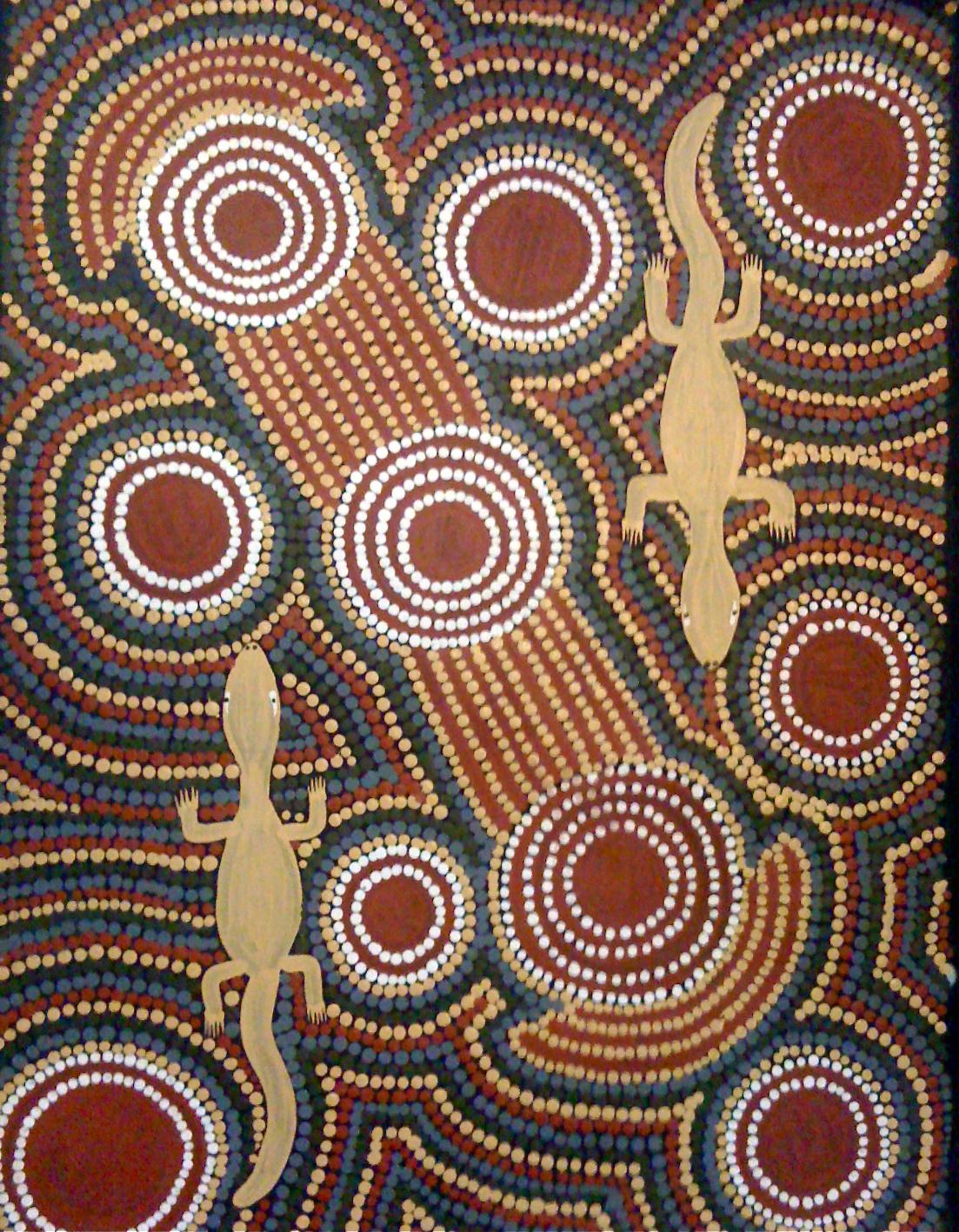 Aboriginal Art Patricia Spencer Nungurrayi Human Behavior