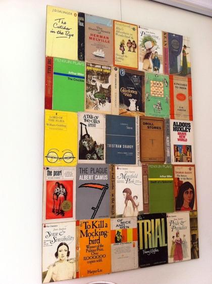 Diy Book Cover Collage ~ Diy book display for kids human behavior